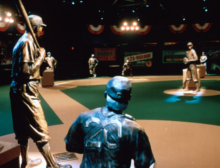 NEGRO LEAGUES BASEBALL MUSEUM, FIELD OF LEGENDS