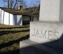 JESSE JAMES FARM HOME, GRAVE AND HOME
