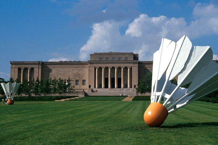 NELSON-ATKINS MUSEUM OF ART, EXTERIOR (SOUTH)