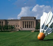 NELSON-ATKINS MUSEUM OF ART, EXTERIOR (SOUTH)
