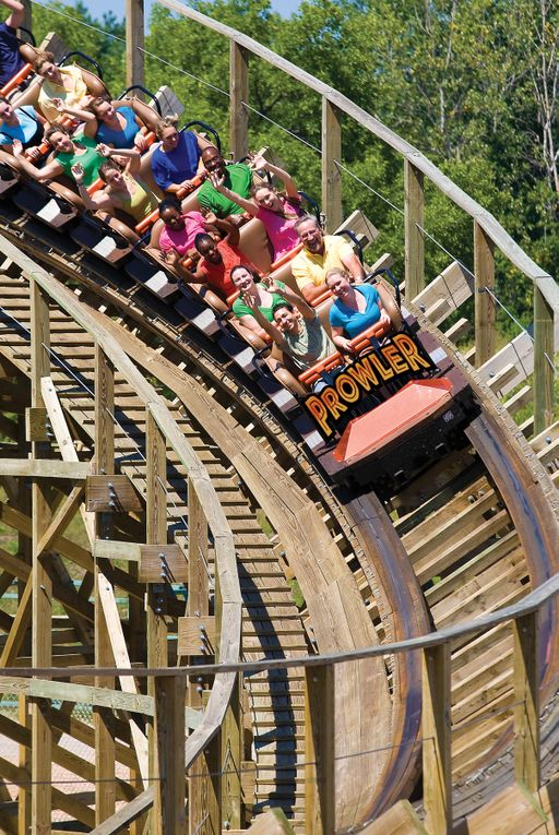 Worlds of Fun, Prower Rollercoaster
