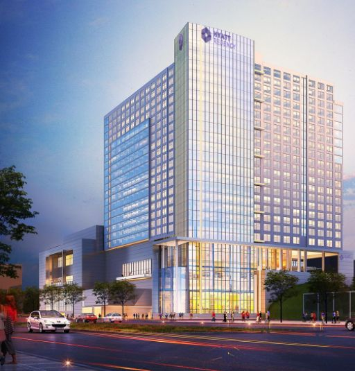 Kansas City Convention Center Hotel - Proposed Hyatt Regency