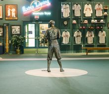 Detroit on deck at Negro Leagues Baseball Museum