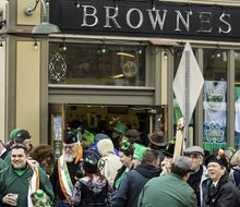 Welcome to Browne's Irish Marketplace, the oldest Irish business in America