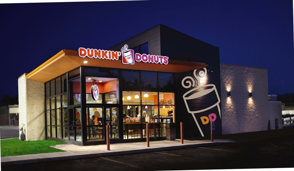 Dd restaurant exterior dunkin 39 donuts for 5 star restaurant exterior