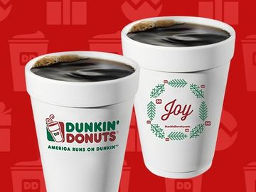 NEW CONTEST CELEBRATES THE JOY OF DUNKIN' DONUTS COFFEE DURING THE HOLIDAYS