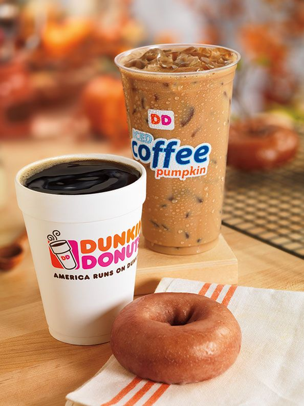 FALL IS ON THE WAY: DUNKIN' DONUTS' PUMPKIN MENU RETURNS THIS MONTH