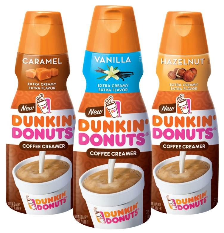 DUNKIN' DONUTS DEBUTS THREE NEW IN-HOME COFFEE CREAMER FLAVORS