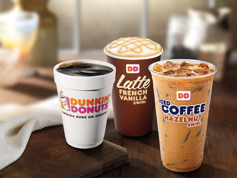 DUNKIN' DONUTS BREWS A SWIRL OF EXCITEMENT WITH NEW COFFEE FLAVOR SWIRLS AND COFFEE CREME DONUTS