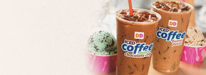 """PUTTING THE """"BR"""" IN BREW: DUNKIN' DONUTS LAUNCHES ICED COFFEE FLAVORS INSPIRED BY BASKIN-ROBBINS ICE CREAM"""