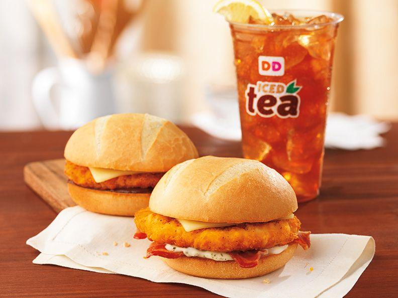 DUNKIN' DONUTS EXPANDS ALL-DAY MENU WITH TWO NEW CHICKEN SANDWICHES