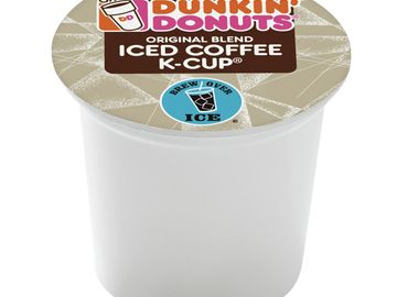 HOME ICE ADVANTAGE: DUNKIN' DONUTS INTRODUCES ICED COFFEE K-CUP® PACKS