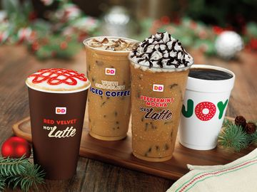 HOLIDAY CHEER THROUGH THE REST OF THE YEAR AT DUNKIN' DONUTS