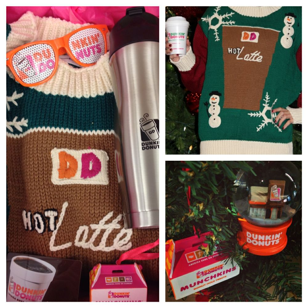 HOLIDAY CLOTHES OUT: DUNKIN' DONUTS LAUNCHES HOLIDDAY FASHIONS CONTEST