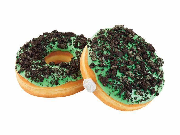 Mint Oreo Donut
