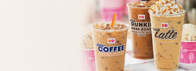 Baskin-Robbins Flavored Iced Coffee