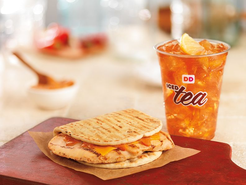THRILL OF THE GRILLED: DUNKIN' DONUTS ADDS GRILLED CHICKEN TO MENU  WITH NEW GRILLED CHICKEN FLATBREAD SANDWICH