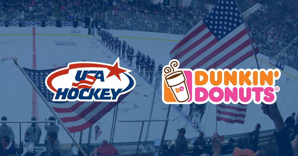 DUNKIN' DONUTS SCORES PARTNERSHIP WITH USA HOCKEY