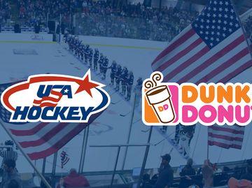 DUNKIN' DONUTS SCORES PARTNERSHIP WITH USA HOCKEY
