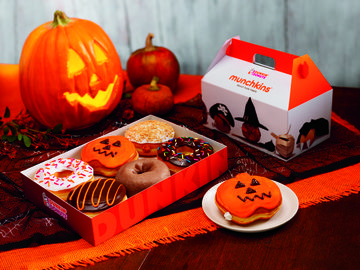 NEW TREATS FOR OCTOBER AT DUNKIN' DONUTS