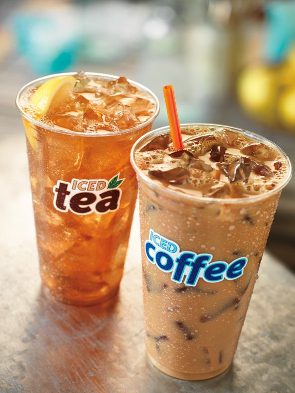 Iced Coffee or Iced Tea