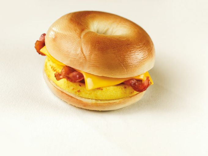 Bacon-Egg-Cheese on Bagel