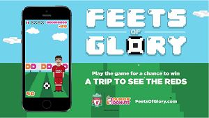 "Play ""Feets of Glory"" For A Chance To Win A Trip To See Liverpool FC Play!"