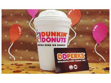 Dunkin' Donuts Celebrates 65 Years & 3 Million DD Perks® Members