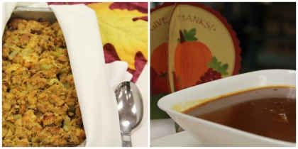 Culinary Corner: Dunksgiving – Gravy and Stuffing