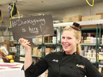 Culinary Corner: It's Dunksgiving at the DD Mothership!