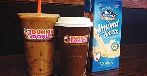 You've Asked and We've Heard: Almond Milk is Now at Dunkin'!