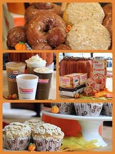 #PumpkinAtDunkin is Back! IncluDDes NEW Pumpkin Crème Brulee Flavor!