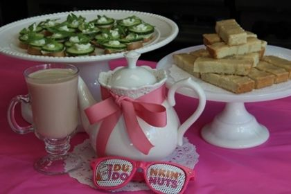 Chef's Corner: Dunkin' Tea Time