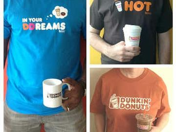 Dunkin' Donuts and Threadless Host T-Shirt Design Challenge