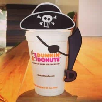 Dunkin' Donuts Celebrates Talk Like A Pirate Day