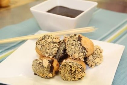 Chef's Corner: Celebrate National S'mores Day with S'mores Munchkins® Donut Hole Treats FonDDue