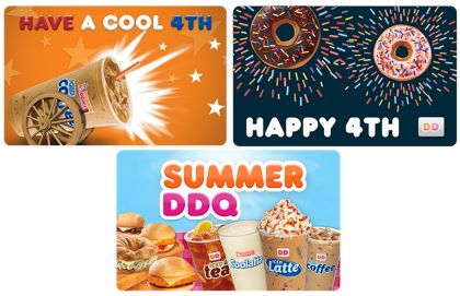 Celebrate the Fourth of July with Dunkin' Donuts
