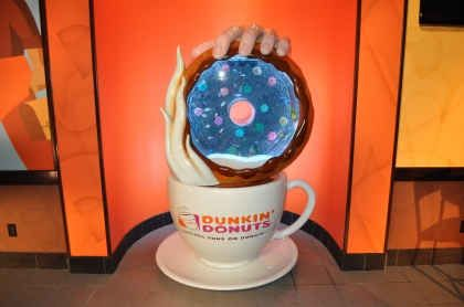 Dunkin' Donuts Gets TankeDD With Special Coffee and Donut Aquarium