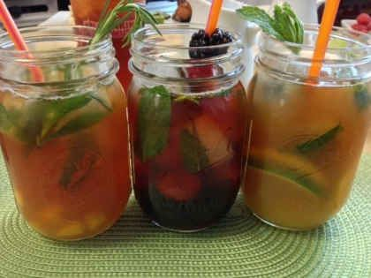 Chef's Corner: At Home Mixology with Dunkin' Donuts Freshly Brewed Iced Tea
