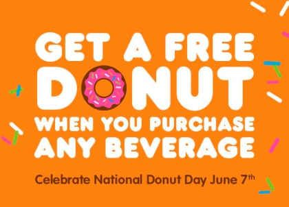 Save the Date: National Donut Day is Friday, June 7