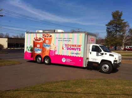 Road Trip Alert: The Dunkin' Donuts Iced Coffee Tour is Headed to the Northeast