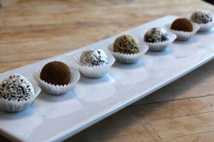 Chef's Corner: No-Bake Peppermint Mocha Latte Truffles
