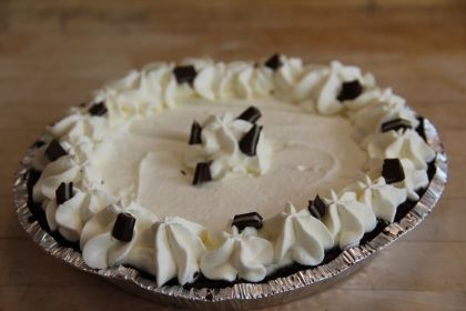 Chef's Corner: Dunkin' Donuts' Mint Hot Chocolate Pudding Pie