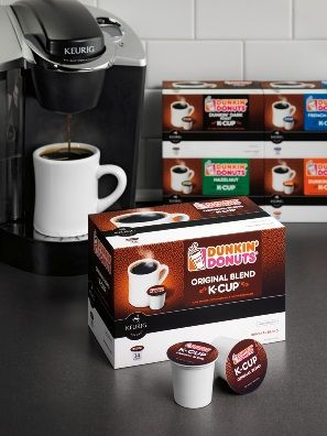 You Asked, We Listened: Dunkin' K-Cup® Portion Packs Have ArriveDD at Participating U.S. Dunkin' Donuts Restaurants!