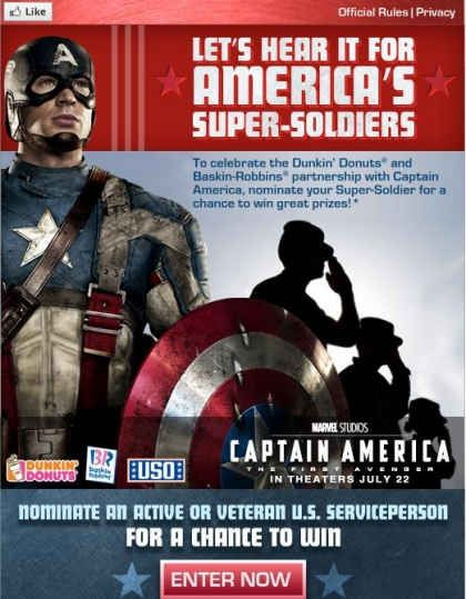 Nominate an U.S. Serviceperson or Veteran to the America's Super-Soldiers Essay Contest by July 15, 2011