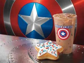 Dunkin' Donuts Unveils Delicious New Menu Items InspireDD by Captain America: The First Avenger