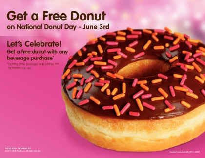RSVP For National Donut Day on Friday, June 3!