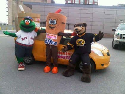 Dunkin' Donuts Iced Coffee Gives Boston Fans a Reason to Cheer