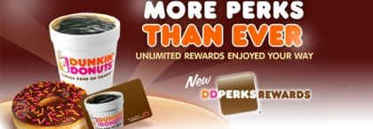 Rewards Your Way: Dunkin' Donuts Launches DD Perks Rewards National Loyalty Program