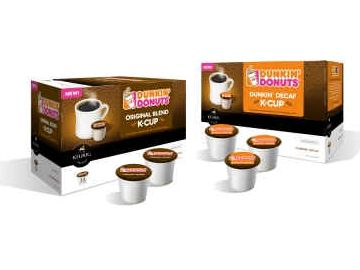 Dunkin' K-Cup® Portion Packs to be Sold in Participating Restaurants Starting Summer 2011